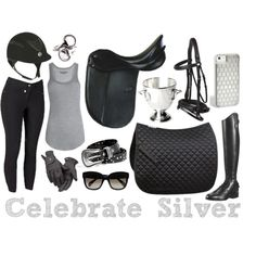 """Celebrate Silver"" Riding Outfit"
