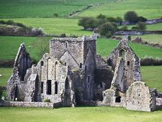 This is the abbey for the monks down the hill from the Rock of Cashel, Where the original Clan Mccarthy was king of Ireland in 960 ad, Mac cathaigh. The two sons fought of the title and Brian Boru became king and Mccarthy Mor became king of Munster