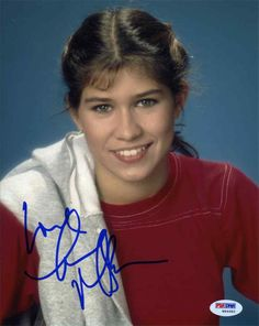 Nancy McKeon 'Facts of Life' Signed 8x10 Photo Certified Authentic PSA/DNA