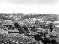 1872 antigo Viaduto do Chá