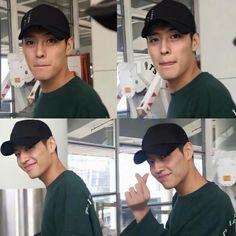 Drama Korea, Korean Drama, Kang Ha Neul Smile, Asian Actors, Korean Actors, Lee Min Ho Shirtless, Kang Ha Neul Moon Lovers, Kang Haneul, Smile Gif