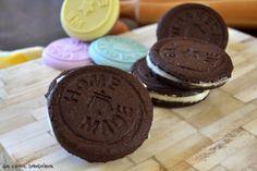 dos entre bambalinas: Galletas de chocolate rellenas