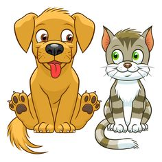 Find Cute Cartoon Cat Dog stock images in HD and millions of other royalty-free stock photos, illustrations and vectors in the Shutterstock collection. Cartoon Whale, Cartoon Dog, Cute Cartoon, Rat Silhouette, Bear Vector, F2 Savannah Cat, Kitty Images, Free Dogs, Funny Animal Videos