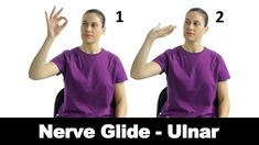 Ulnar nerve glides can help encourage trapped or injured ulnar nerves to glide normally. Watch more Ask Doctor Jo videos featuring full routines for common i. Ulnar Nerve Exercises, Elbow Exercises, Stretching Exercises, Golfers Elbow Treatment, Ulnar Nerve Entrapment, Trapped Nerve, Shoulder Workout, Shoulder Exercises