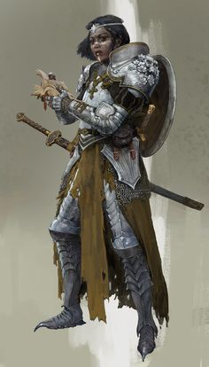 by Roman Kupriianov - Your Daily Dose of Amazing beautiful Creativity and Digital Art - Fantasy Characters: Archers Assassins Astronauts Boners Knights Lovers Mythology Nobles Scholars Soldiers Warriors Witches Wizards Male Character, Character Portraits, Fantasy Character Design, Character Design Inspiration, Dungeons And Dragons Characters, Dnd Characters, Fantasy Characters, Dungeons And Dragons Paladin, Illustration Design Graphique