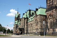 Parlamento, en Ottawa.