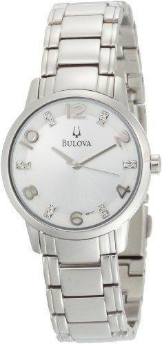 #Bulova #Women's 96P107 Diamond Accented Dial Bracelet Mother of Pearl Dial #Watch       She loved it       http://amzn.to/HhRfaV