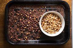 Recept na domácí oříškovo čokoládovou pomazánku.