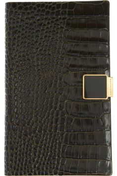 Smythson|Panama croc-effect leather 2013 diary|NET-A-PORTER.COM