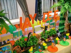 """""""Jungle Book"""" Decor by Treasures and Tiaras Kids Parties, via Flickr"""