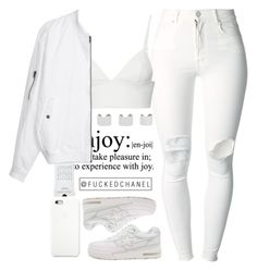 """ Bow wow wow, yippee yow yippee yay "" by fuckedchanel ❤ liked on Polyvore featuring (+) PEOPLE, Maison Margiela, T By Alexander Wang, Agonist, A BATHING APE and Black Apple"