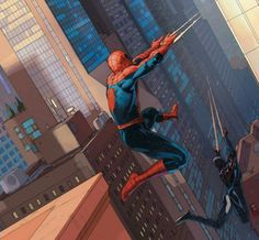 Spider-Men - Peter and Miles