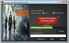 Download Tom Clancy's The Division CD Key cheat 2016. Download hack for Tom Clancy's The Division CD Key. Download crack for Tom Clancy's The Division CD Key. Tom Clancy's The Division CD Key download cheats 2016, crack and tools.