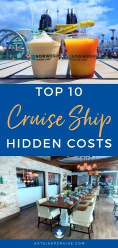 10 Hidden Costs of Cruising. Don't get stuck with sticker shock on your first cruise. Know the true cost of your voyage with our detailed look at the hidden costs of cruising. #cruise #cruiseplanning #cruisetips #eatsleepcruise Best Cruise, Cruise Port, Cruise Tips, Packing For A Cruise, Cruise Travel, Cruise Vacation, Cruise Excursions, Cruise Destinations, Cruise Ship Reviews