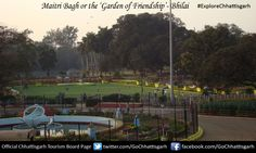 Maitri Bagh or the 'Garden of Friendship' built to commemorate the friendship between the Indian and the Russian government. This garden has been built by the Bhilai Steel Plant. It is considered to one of the best hangout spots in the state of the Chhattisgarh, enjoyed by people of all the ages. #ExploreChhattisgarh