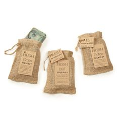 SCENTS OF THE EARTH 3 SOAP SET | coffee soap, grass, dirt | UncommonGoods