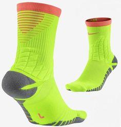 fcb47456e Nike Mens Womens Strike Hypervenom Basketball Green Crew Socks SZ M  SX5438-336 #Nike