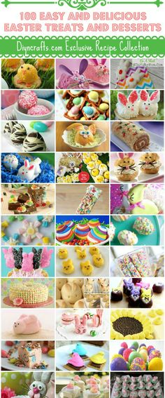 100 Easy and Delicious Easter Treats and Desserts – Page 3 of 10 – DIY &...