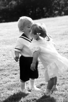Young love is so sweet!