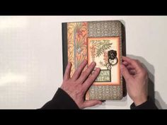 Ginger takes you on a video tour of her altered Artisan Style notebook #graphic45