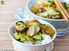 Stir-Fry Cabbage Recipe