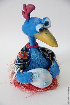 Купить Цыпа - цыпа, курица, синяя птица, Пасха, пасхальный сувенир, пасхальные подарки, птица