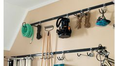 Rubbermaid Fast Track garage system