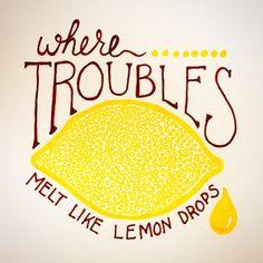 Month of drawing. Prompt 6: lemon. #spoonchallenge #spoonflower #kfay where troubles melt like lemon drops Citrus Events, Lemon Quotes, Happy Jar, Lemon Party, Lemon Kitchen, Relief Society, Classroom Themes, Love Cards, Teacher Appreciation