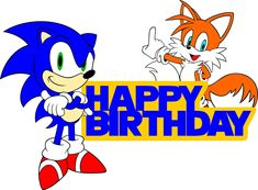 Sonic and Tails Birthday Cake topper sign SVG file Sonic Birthday Cake, Sonic Cake, Number Birthday Cakes, Sonic Birthday Parties, Sonic Party, Baby Boy 1st Birthday, Birthday Cake Toppers, Birthday Party Decorations, Birthday Pictures