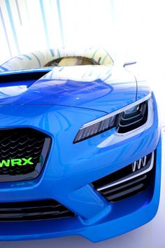 Subaru WRX Concept Debut at 2013 NYIAS