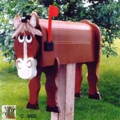 Horse MAILBOX. You are looking for an original gift. Here the occasion to put a personal key at your house, garden, office or to make an original gift for years during.$143.00vfg