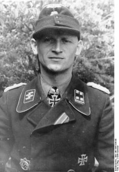 Otto Meyer (1912–1944) was an Obersturmbannführer (Lieutenant Colonel) in the Waffen SS, who was awarded the Knight's Cross of the Iron Cross with Oak Leaves.Meyer, an early SS volunteer, fought on the Eastern Front where he was given command of the 9th SS Panzer Regiment in Jan 1944. In June 1944 his division served in Normandy where Meyer distinguished both himself and his regiment by destroying over 300 allied tanks. He was killed crossing the River Seine on 28 August 1944.
