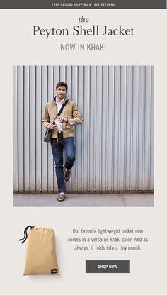 Jackspade - Simple product email