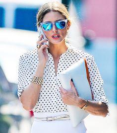 Les lunettes miroir : l'accessoire indispensable