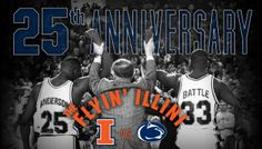 We're celebrating the 25th anniversary of the beloved 1989 Flyin' Illini Final Four team on Jan. 4 at State Farm Center!  #Illini #FlyinIllini #ILLINOIS