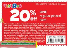 Free Printable Toys R Us Coupons Kfc Coupons, Pizza Coupons, Free Printable Coupons, Free Printables, Papa Johns Coupon Code, Starbucks Case, Phil And Teds, Peg Perego