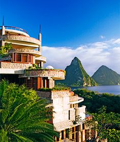 Best Caribbean Resorts and Hotels: Jade Mountain