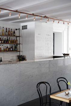 Bar & Co restaurant by Joanna Laajisto, Helsinki - we sell these lights by Swedish company Orsjo