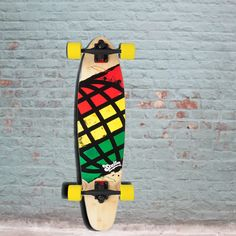 """Longboards USA - Longboard Skateboard - Stella Longboards - Global Cruiser Rasta 34"""" - Complete, $97.00 (http://longboardsusa.com/longboards/cruiser-longboards/longboard-skateboard-stella-longboards-global-cruiser-rasta-34-complete/)"""