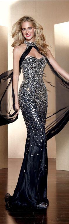 Alyce Paris couture 2013 ~ #VestidosDeFesta