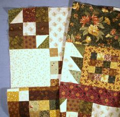 Traditional Setting Step 10 photo Strip Quilt Patterns, Strip Quilts, Quilt Blocks, Quilting Patterns, Small Quilt Projects, Quilting Projects, Quilting Tips, Sewing Projects, Fall Quilts