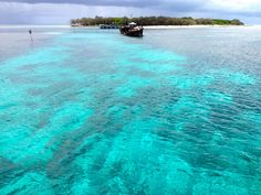 Heron Island, Queensland, Australia The most beautiful blue water.