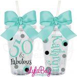50 & Fabulous Tumbler