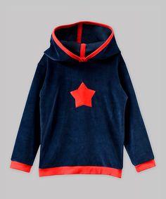 Navy Star Hoodie - Toddler & Boys