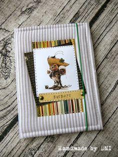 Скрап Галерея: Мастер-класс мягкая обложка для паспорта