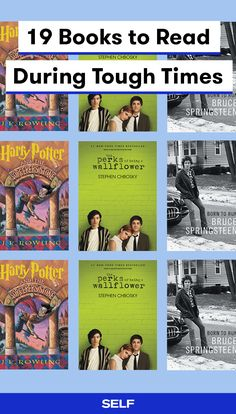 Going through a tough time? Here are 19 book suggestions that have helped people when they were in need of a little literary escapism. Our list has classics like Harry Potter, as well as new finds that you won't be able to put down.