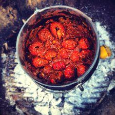 Crayfish potjie .... aaaaaahhhhhh yumyumyumyumyum South African Recipes, Family Adventure, Grubs, Delish, Bbq, Recipies, Heaven, Mood, Style