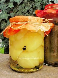 Az otthon ízei: Ecetes almapaprika My Recipes, Favorite Recipes, Healthy Recipes, Canning Pickles, Ketchup, Preserves, Food And Drink, Appetizers, Pudding