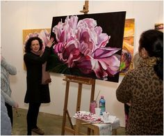 Anyone can paint with Jacqueline Coates' Blooms Painting Method