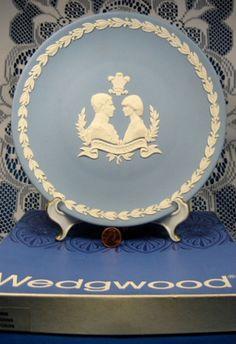 Wedgwood Charles And Diana Royal Wedding Plate Jasper In Box 1981